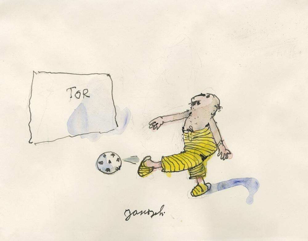 Janosch: Fußball-Spieler