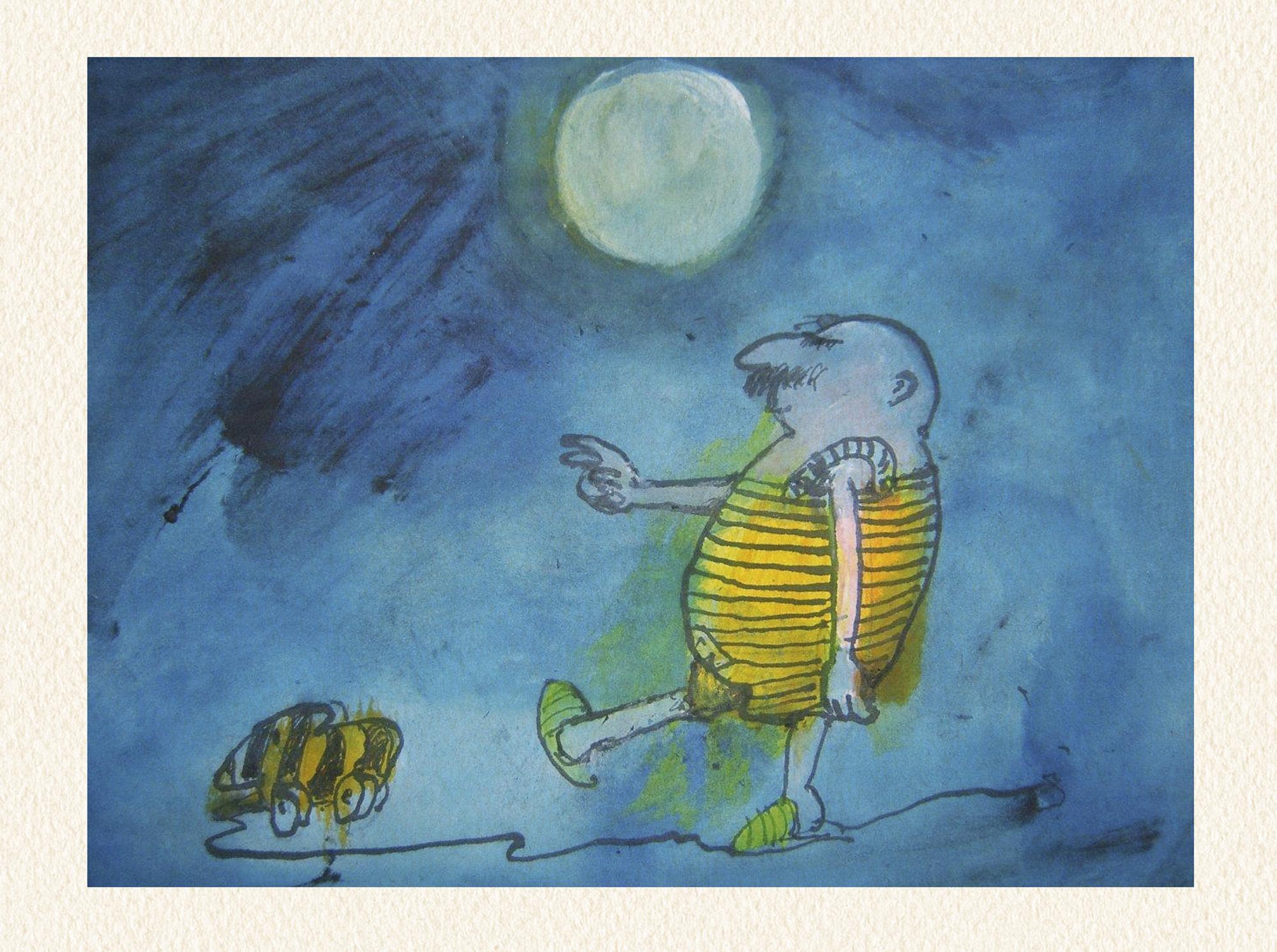 Janosch: Mond und Mensch