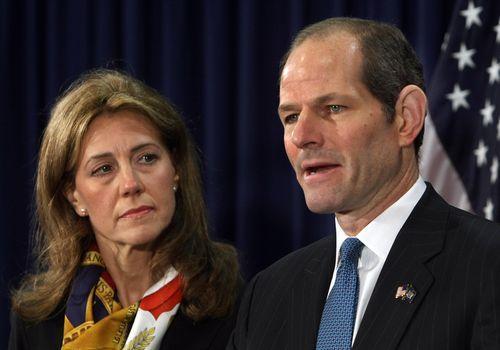 Gesellschaftskritik: Silda und Eliot Spitzer im März 2008