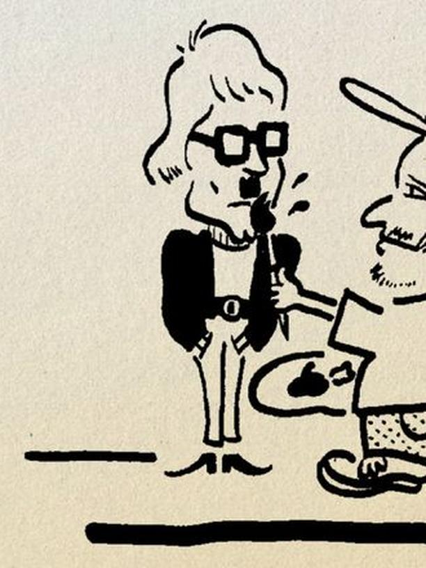 Heino und Jan Delay streiten sich.