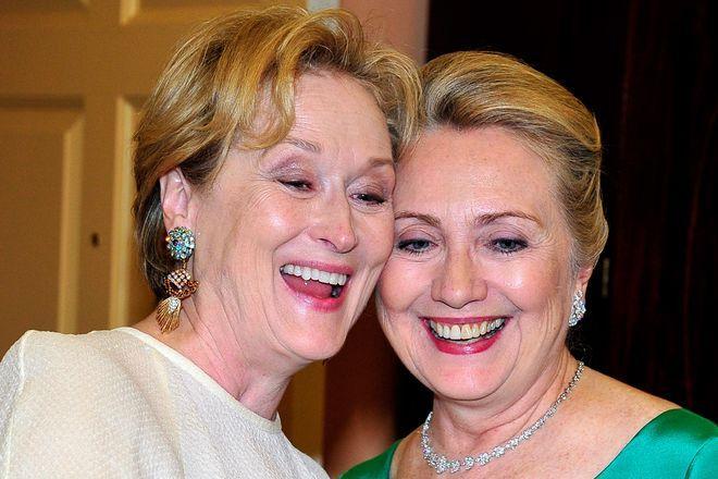 "Hillary Clinton: ""Meryl Streep, natürlich!"""