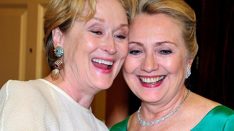 Meryl Streep und Hillary Clinton