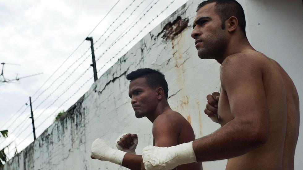 Prison-Fight-Kämpfer in Thailand