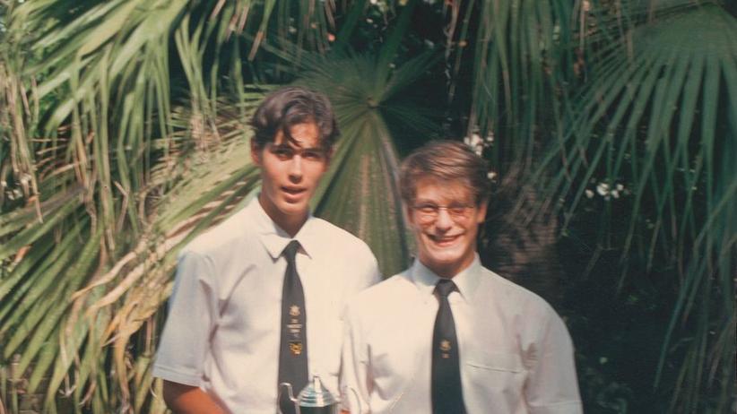 Yassin und Bryan 1994