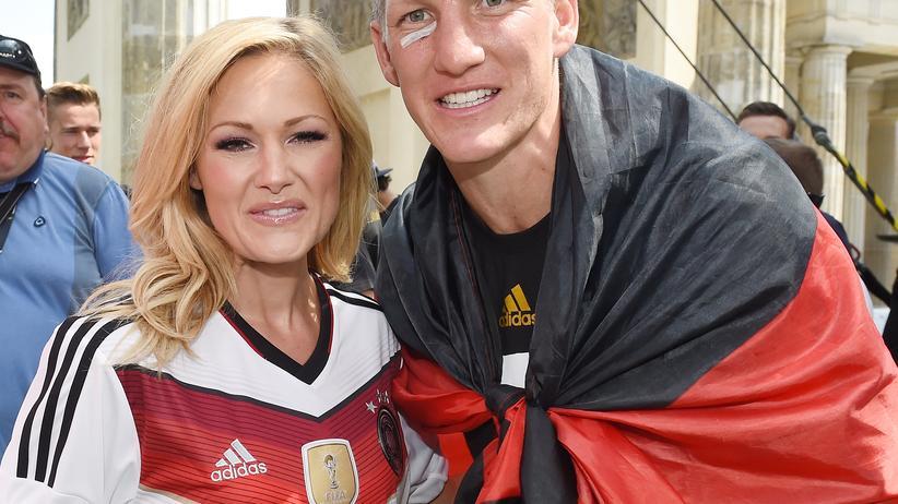 Helene Fischer und Bastian Schweinsteiger