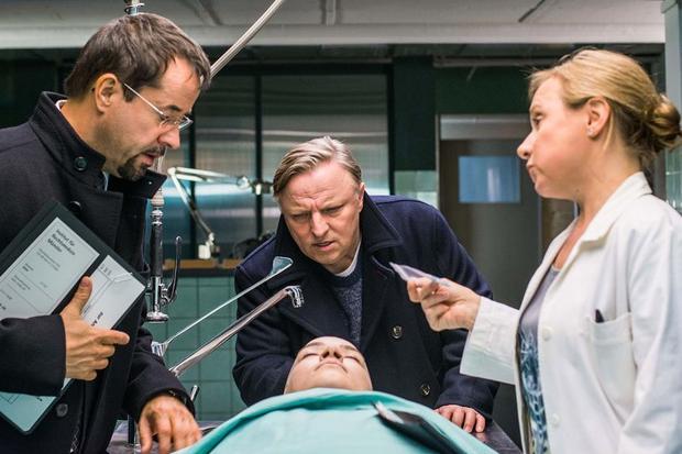 """Filmszene Tatort """"Mord ist die beste Medizin"""""""