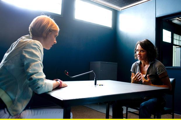 Johanna Stern (Lisa Bitter, li.) und Lena Odenthal (Ulrike Folkerts, re.) haben verschiedene Auffassungen.