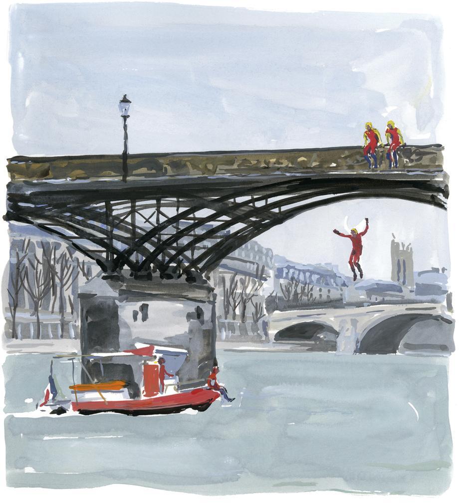 Pariser Tagebuch: Die Flussfeuerwehr von Paris