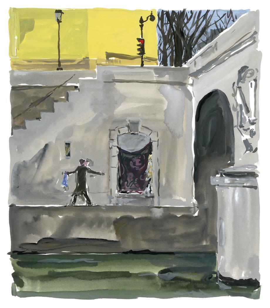 Pariser Tagebuch: Am Pont Saint-Michel