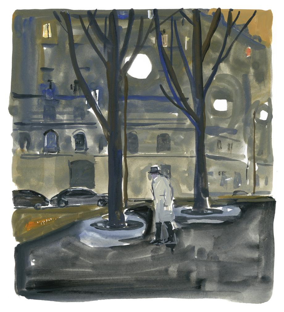 Jean-Philippe Delhomme: Pariser Tagebuch