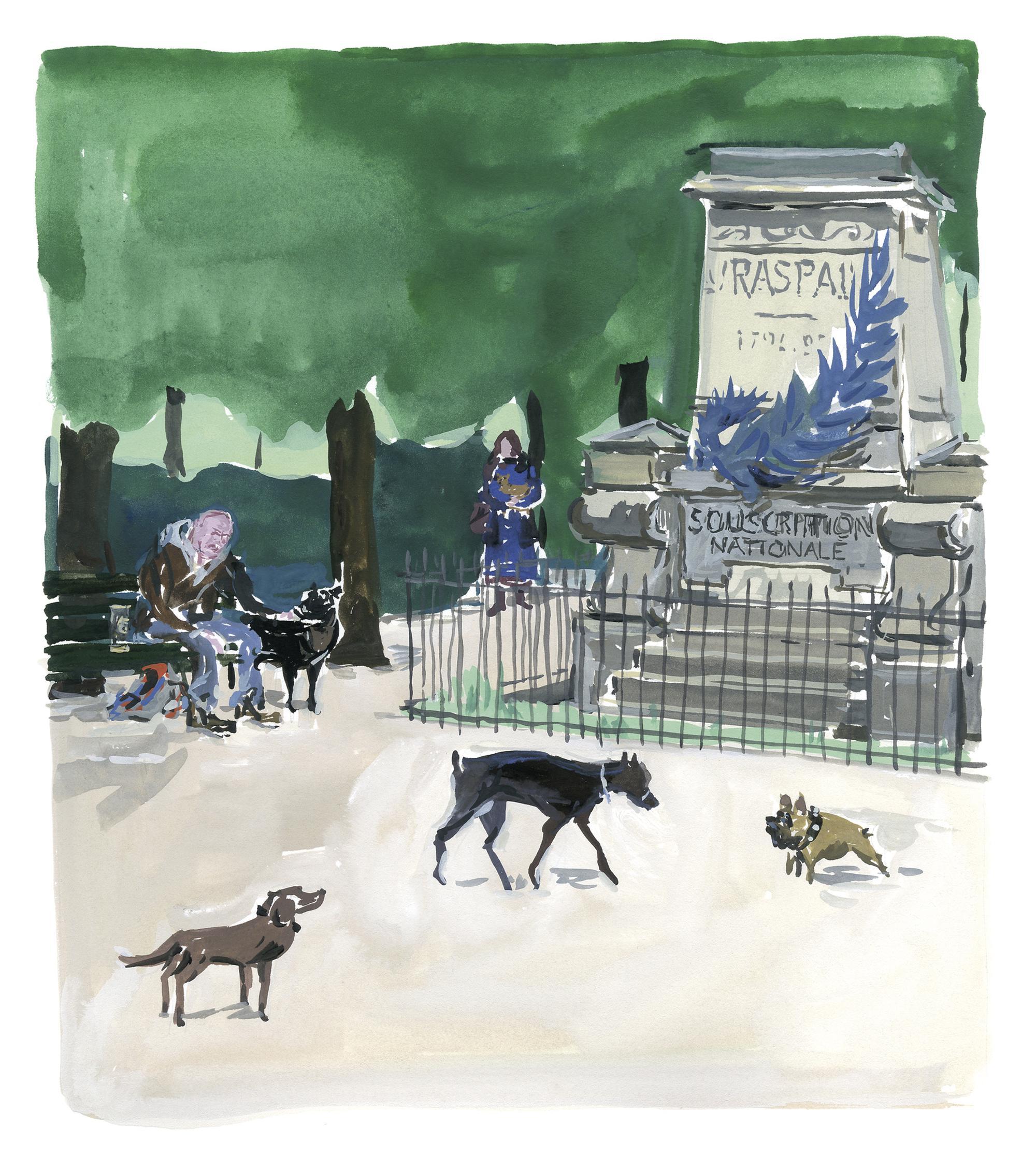 Pariser Tagebuch: Im Hundepark