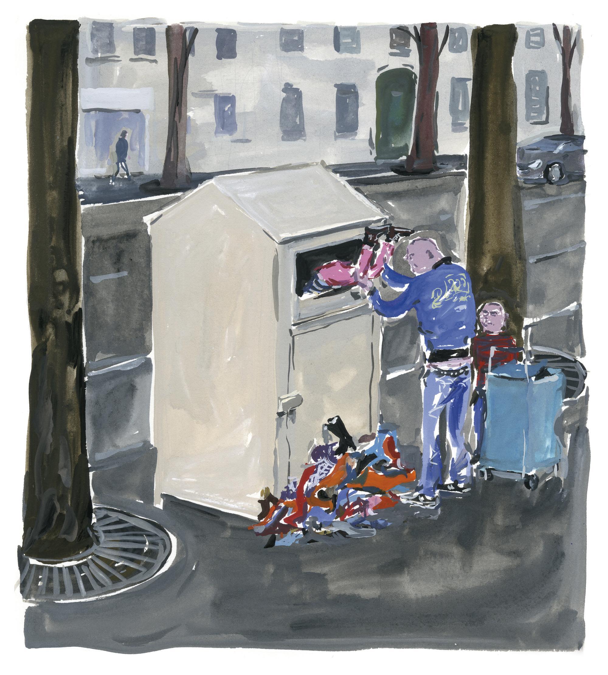Pariser Tagebuch: Recycling
