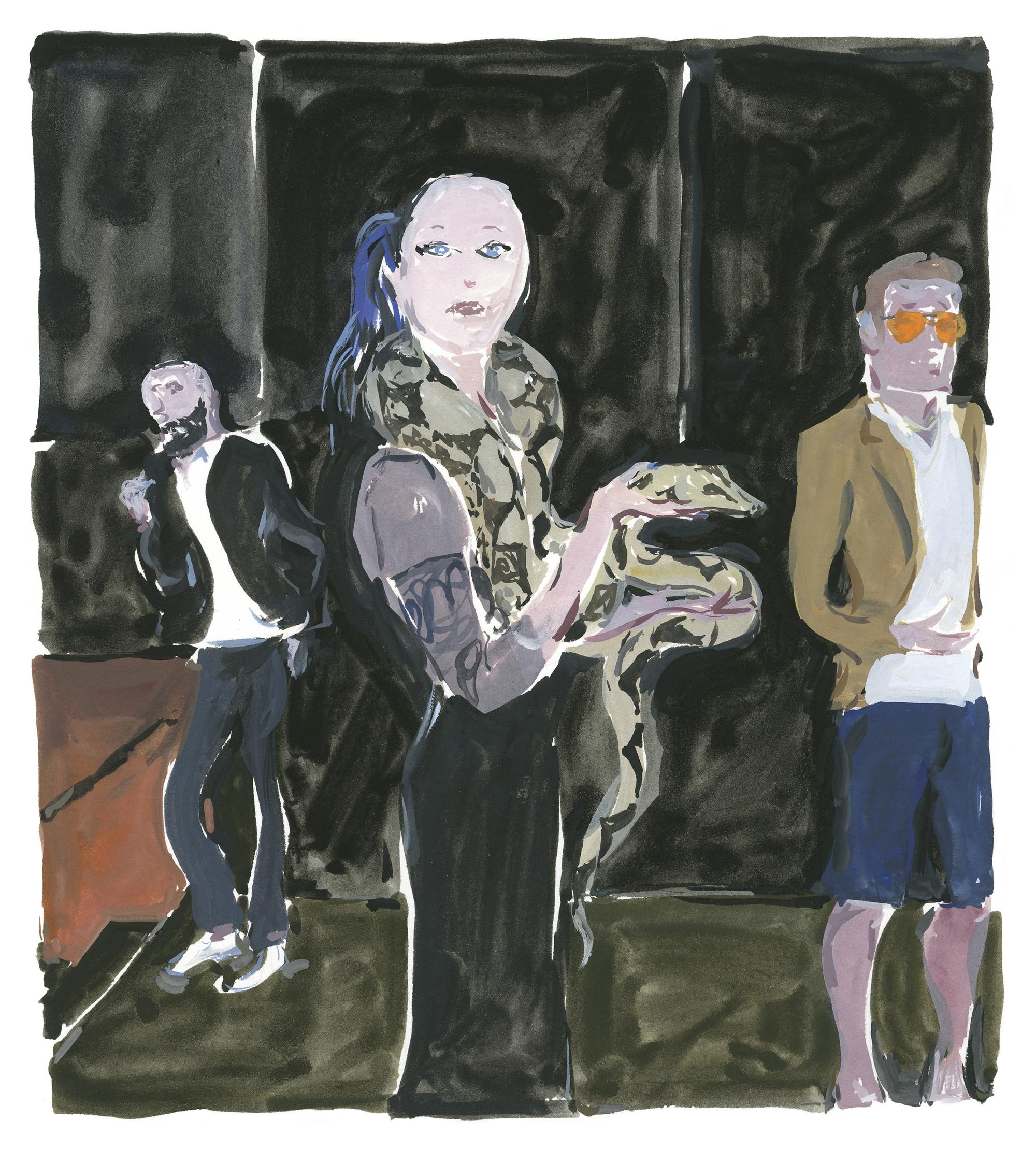 Pariser Tagebuch: Die Schlange