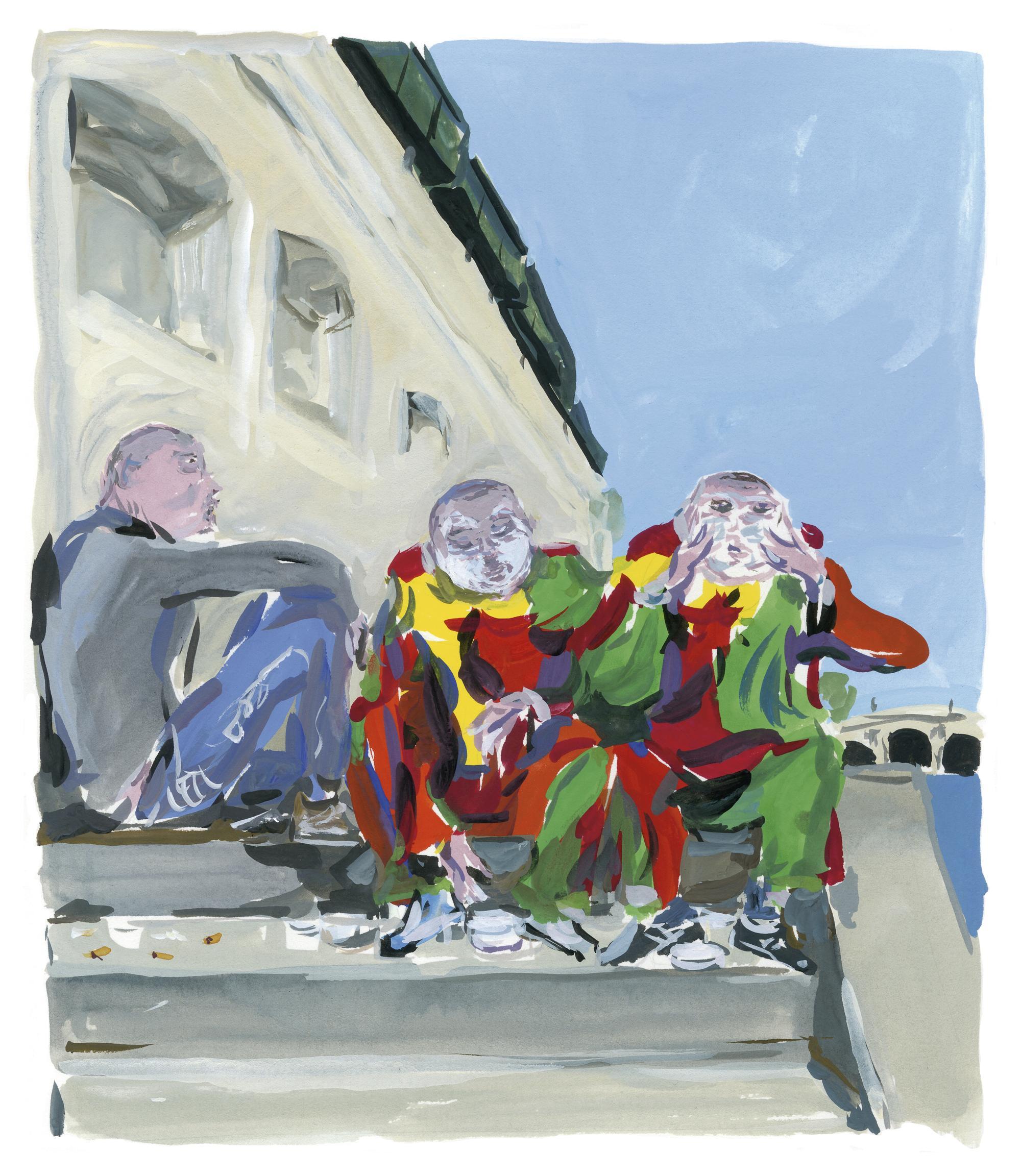 Pariser Tagebuch: Clowns