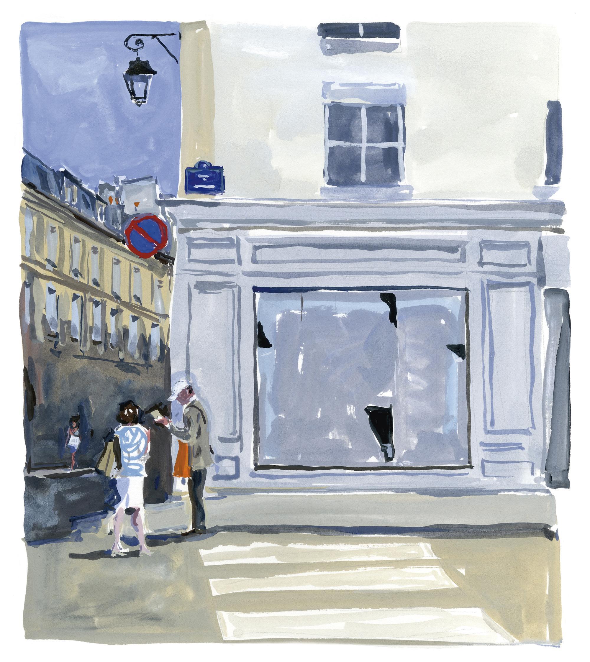 Pariser Tagebuch: Die verschwundene Buchhandlung