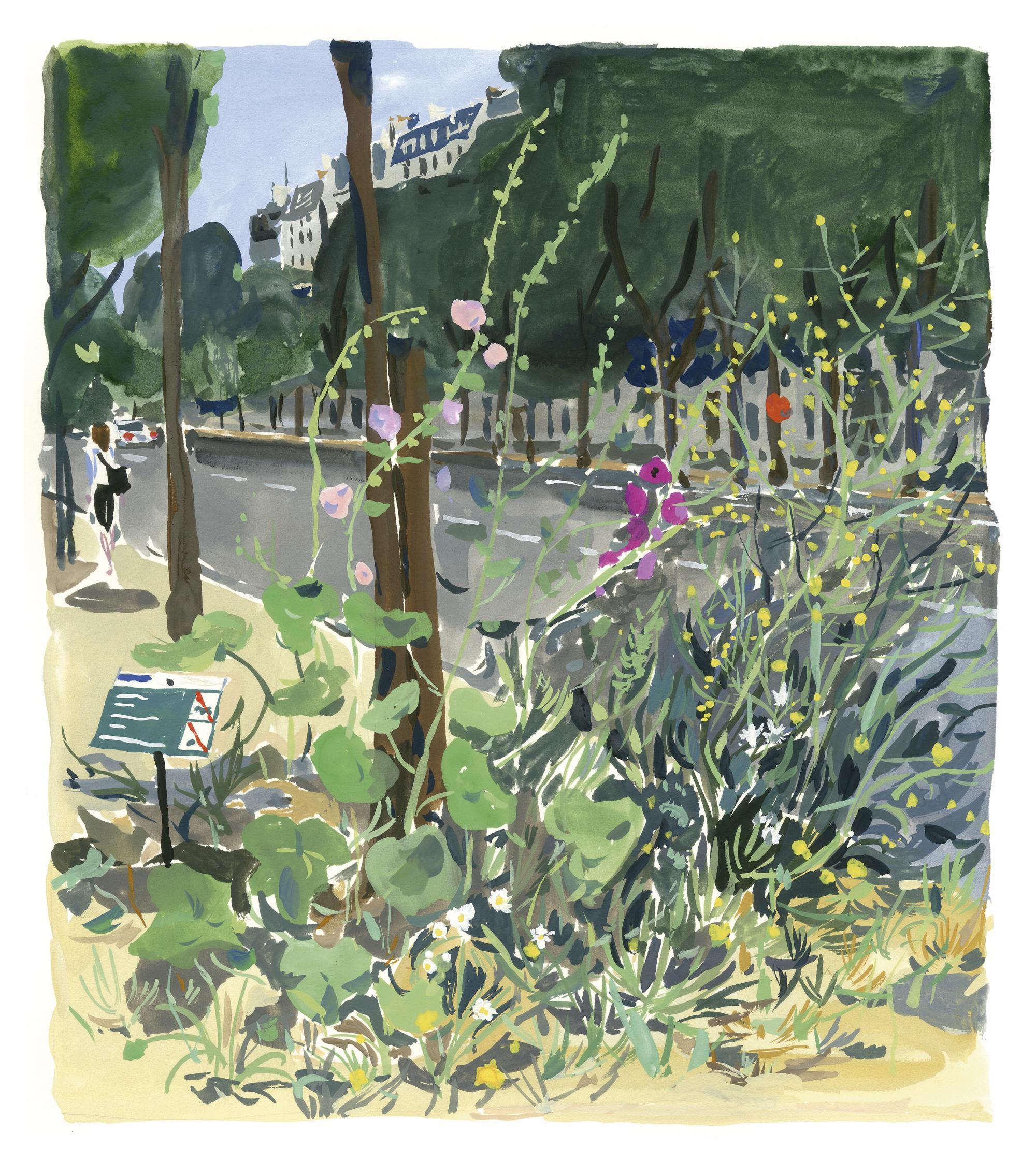 Pariser Tagebuch: Wilde Blumen