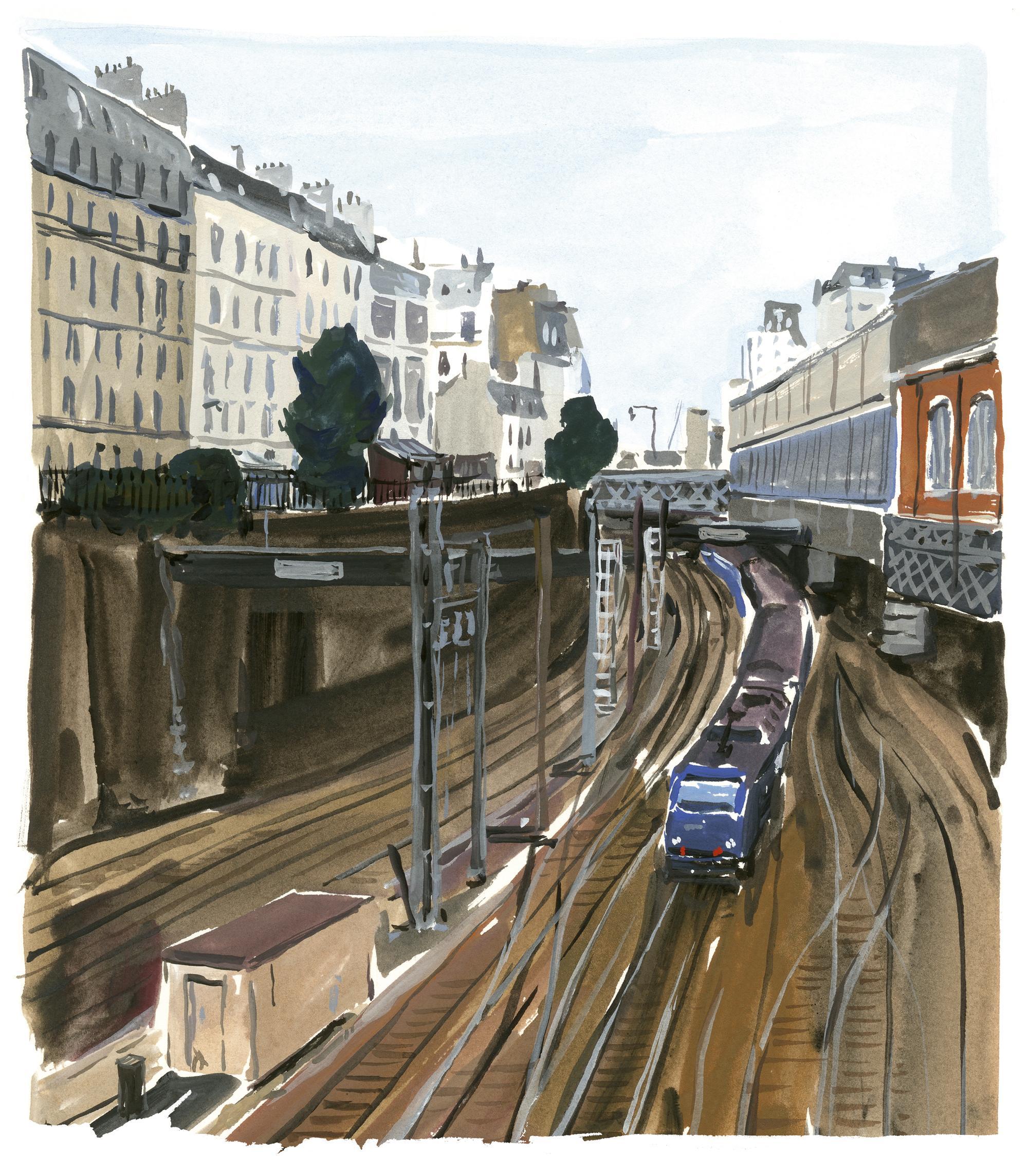 Pariser Tagebuch: Die Eisenbahn