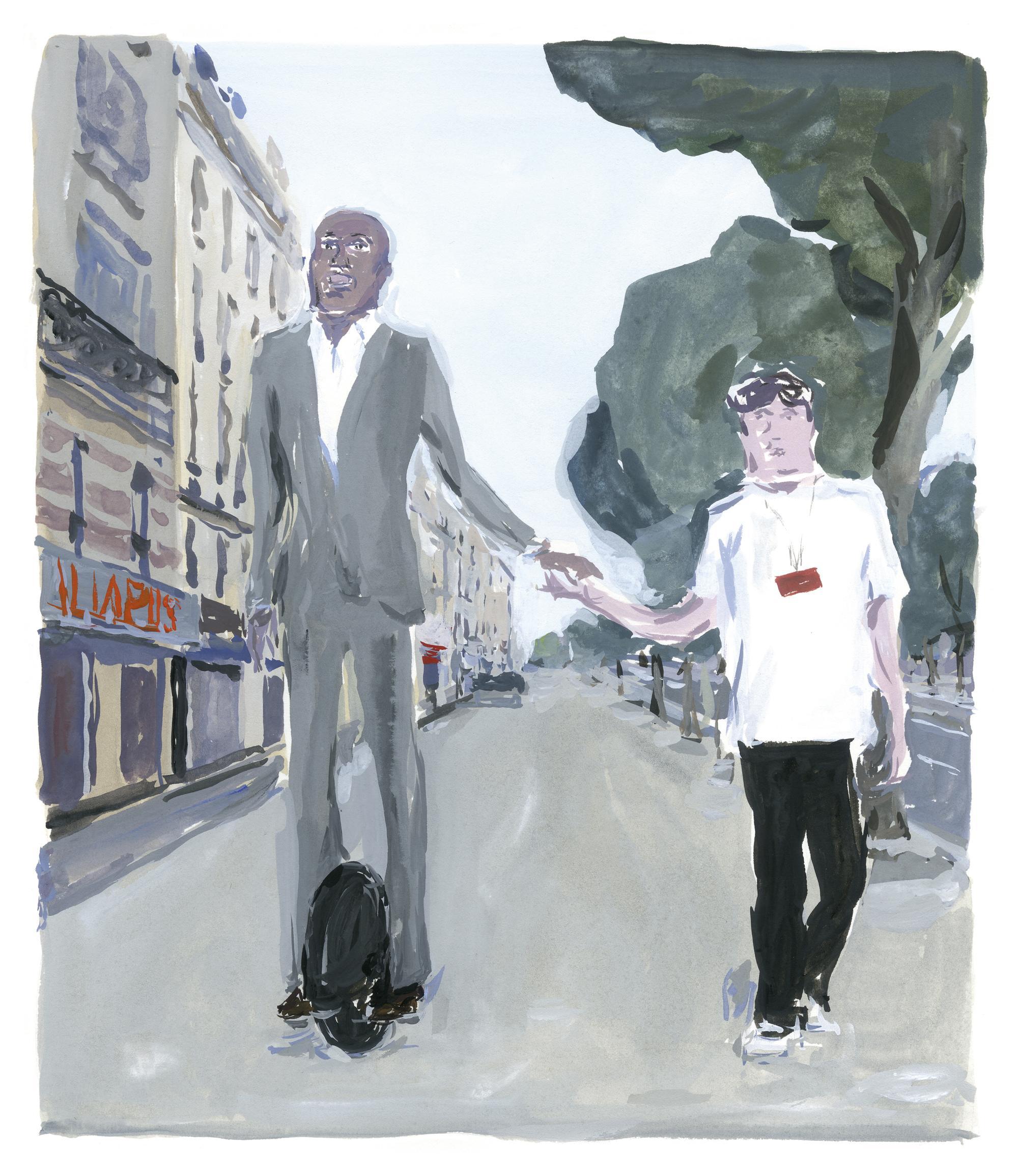 Pariser Tagebuch: Der Seiltänzer