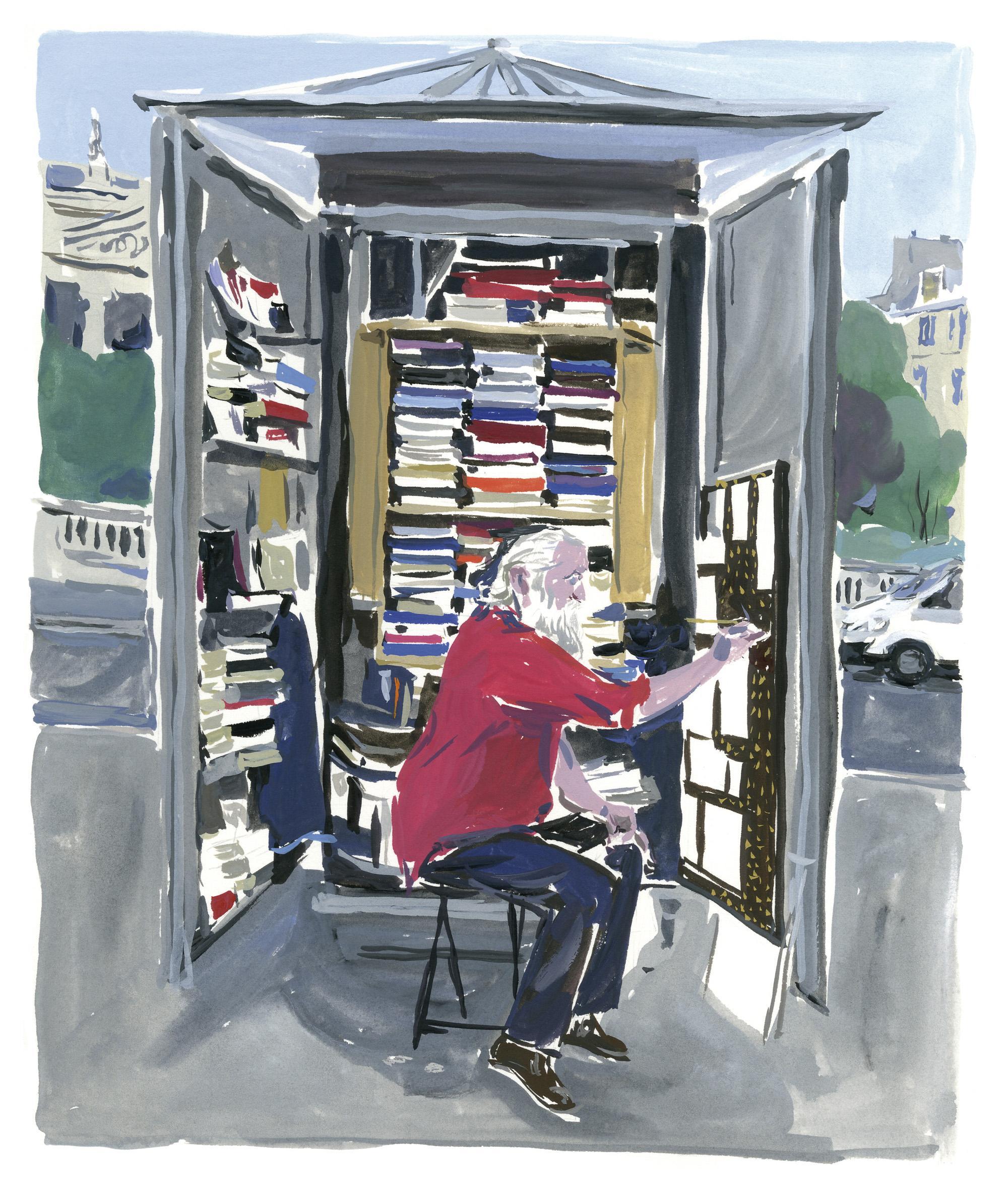 Pariser Tagebuch: Der Maler