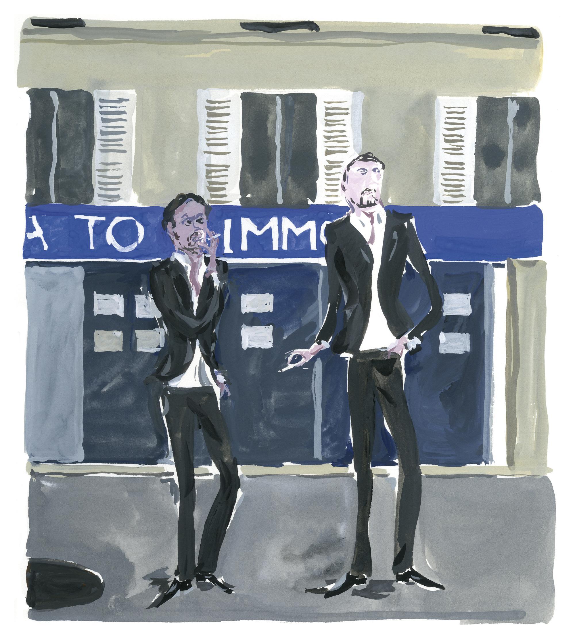 Pariser Tagebuch: Die Makler