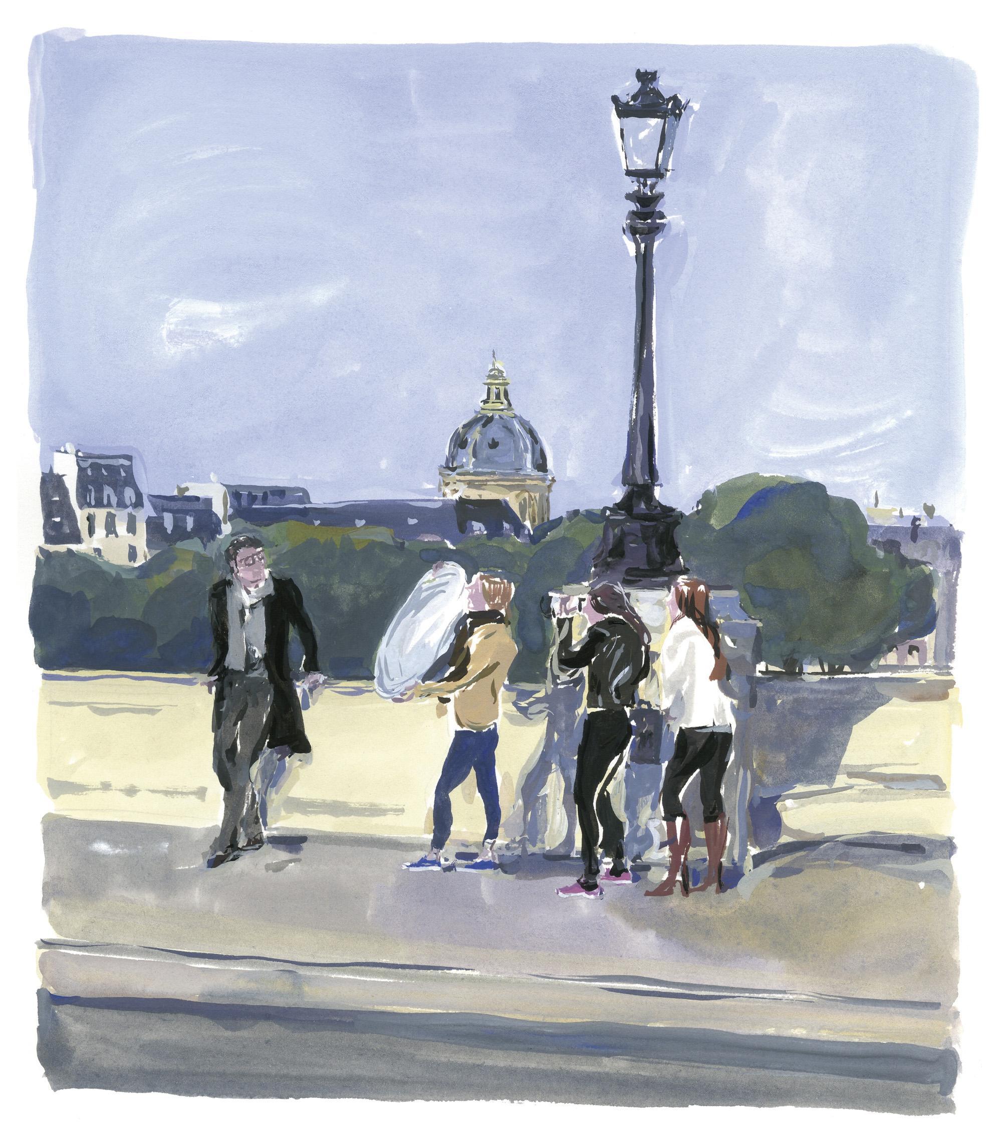 Pariser Tagebuch: Hoffnungen und Zweifel