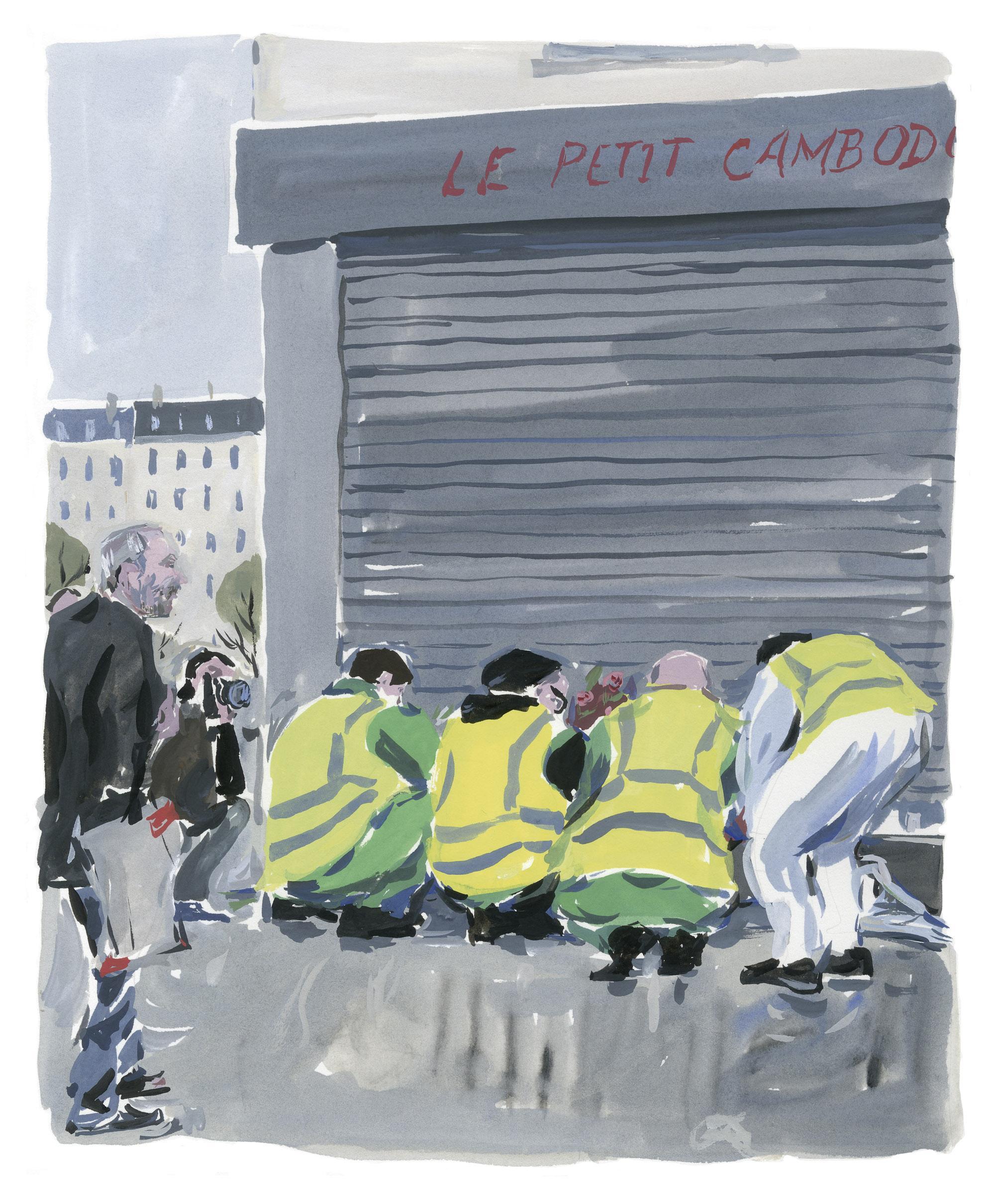 Pariser Tagebuch: Der Tag danach