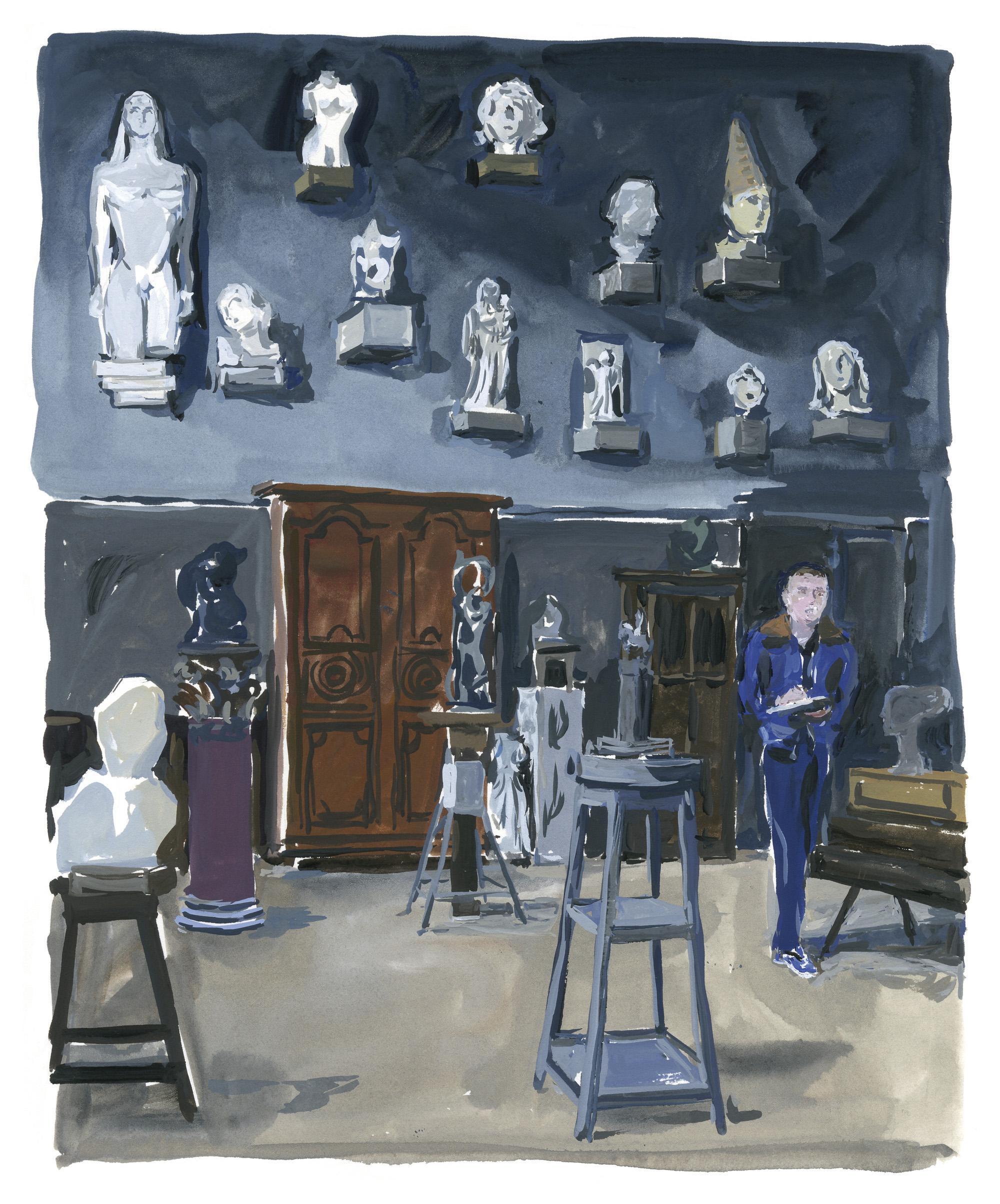 Pariser Tagebuch: Im Musée Bourdelle