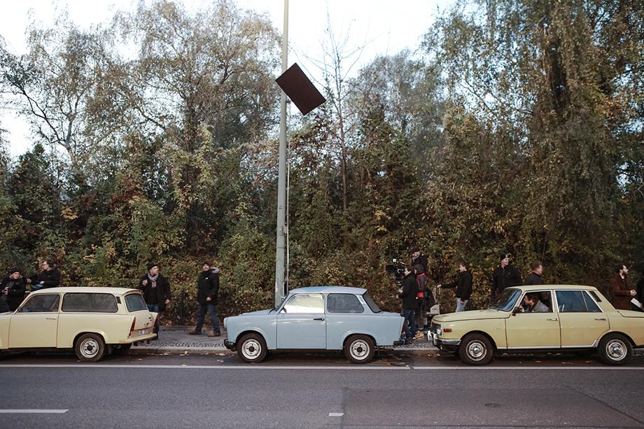 Weissensee, ARD, Fernsehserie, Dreharbeiten dritte Staffel, Berlin