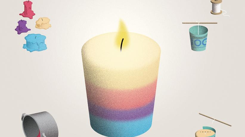 Wundertüte: Kerzen gießen