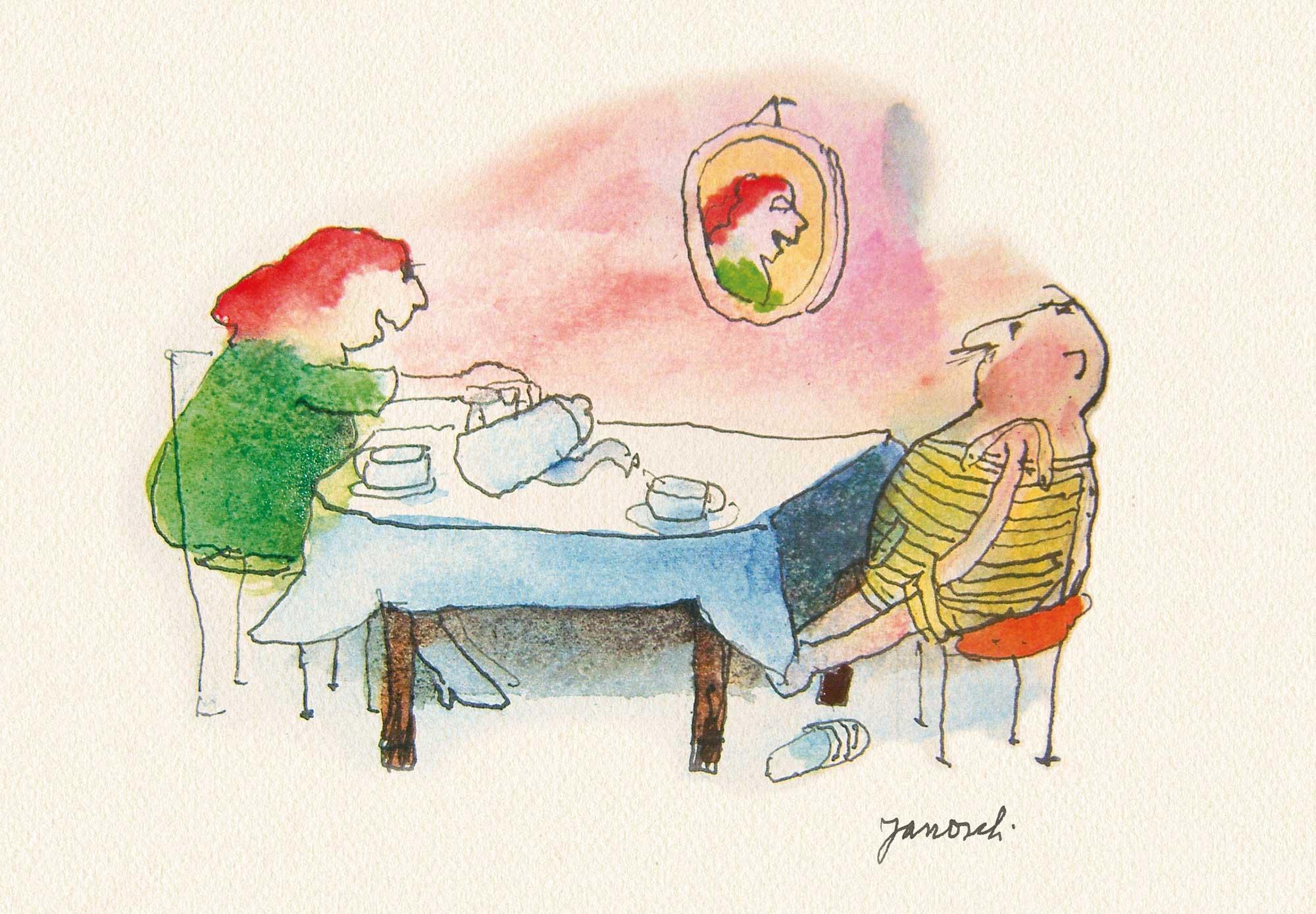 Herr Janosch, was ist besser, Kaffee oder Tee?