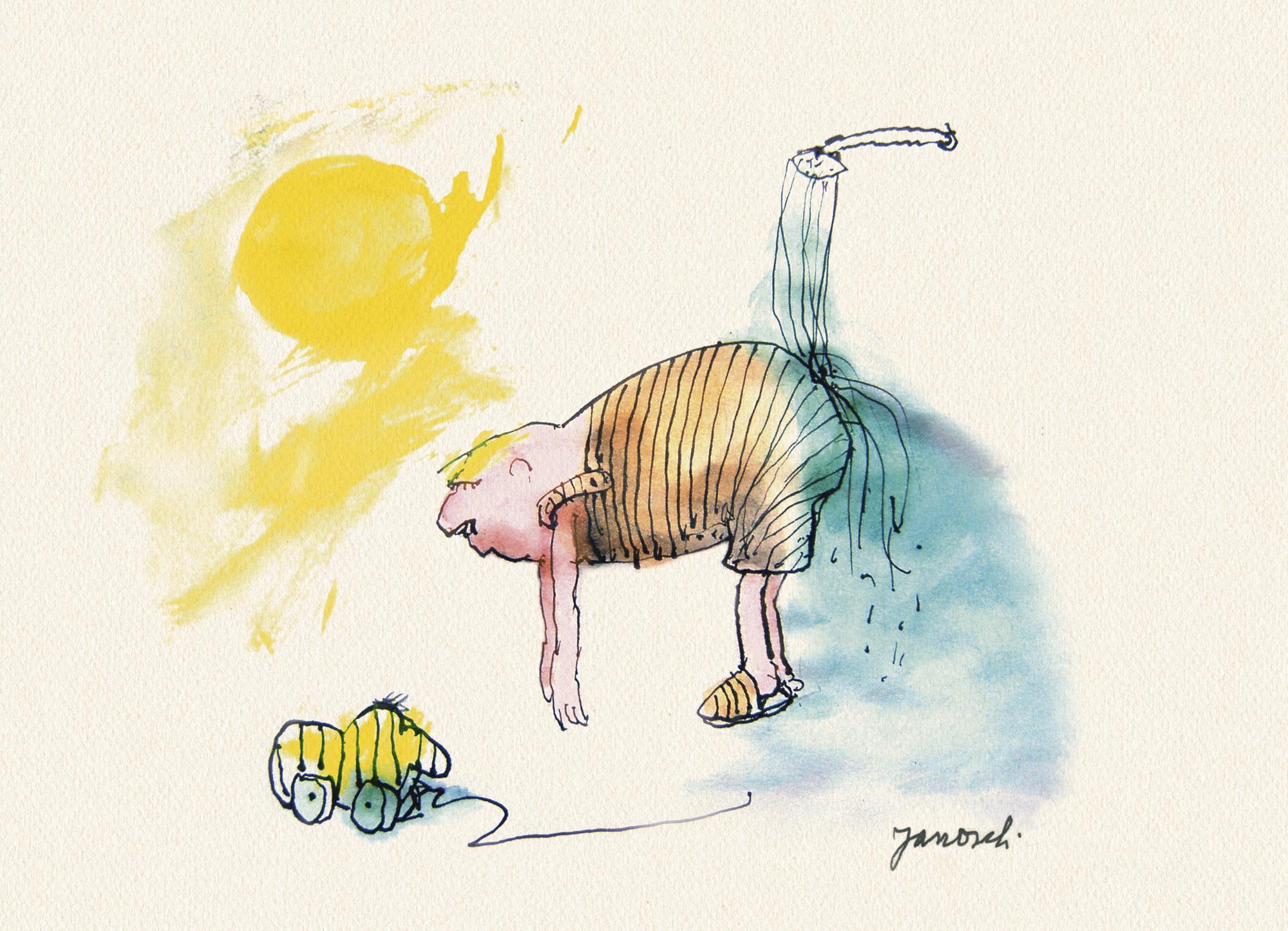 Janosch: Temperierung im Sommer