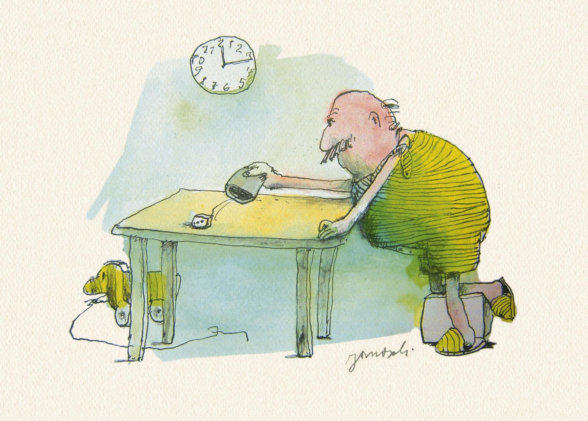Janosch: Wie motiviert man sich zur Arbeit?