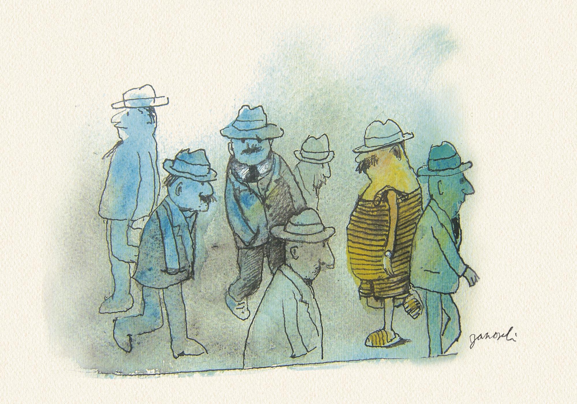 Janosch: Mann und Hut