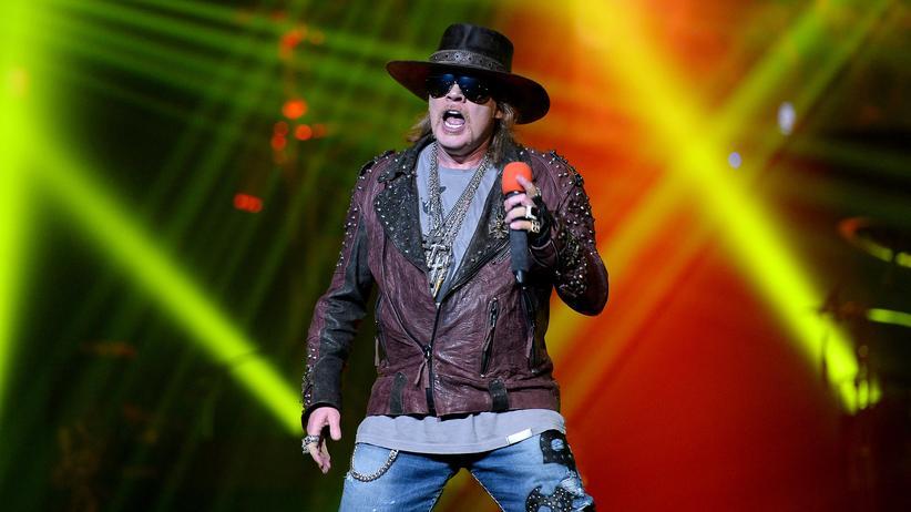 Guns N' Roses: Wer oben ist, muss aufhören