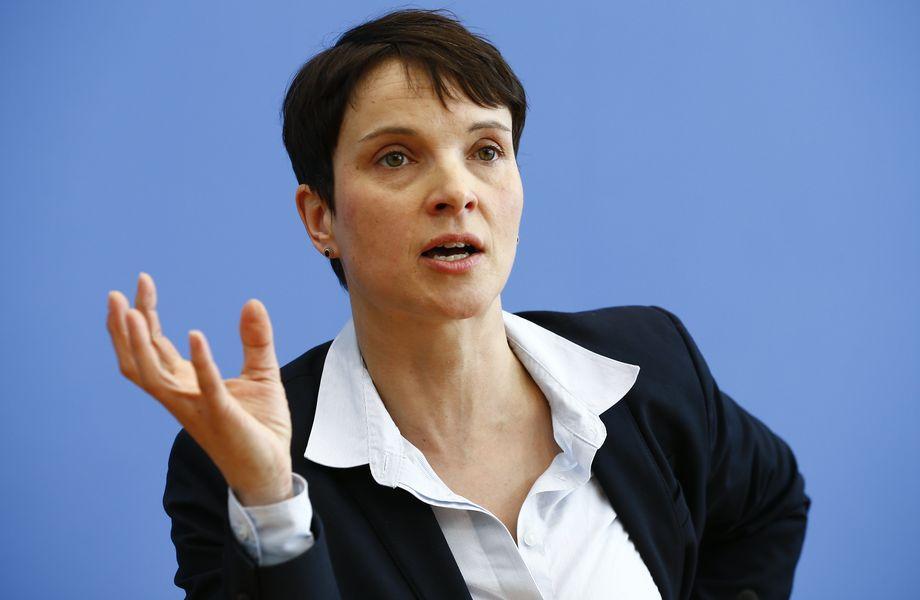 Gesellschaftskritik: Frauke Petry