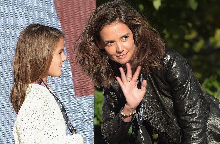 Suri Cruise: Suri Cruise mit ihrer Mutter Katie Holmes