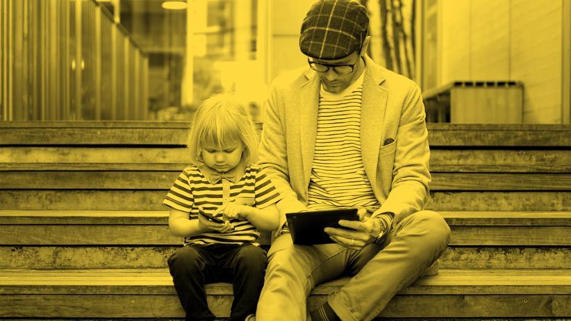 Digitale Familie : Der verantwortungsloseste Vater der Welt