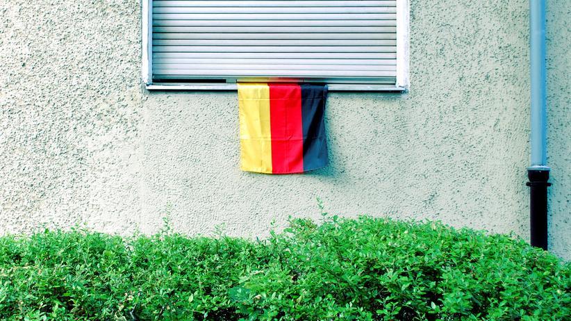 Deutschlandflagge: Viele Farben braucht das Land