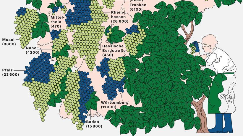 Deutschlandkarte: Weiß oder rot?