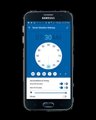 Unter Strom: Mirko Borsche will morgens im Bett wissen, wie das Wetter wird, und testet eine Wetter-App