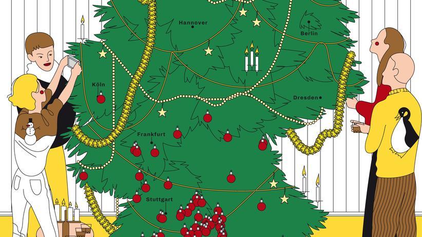 Weihnachten: Christbaumloben