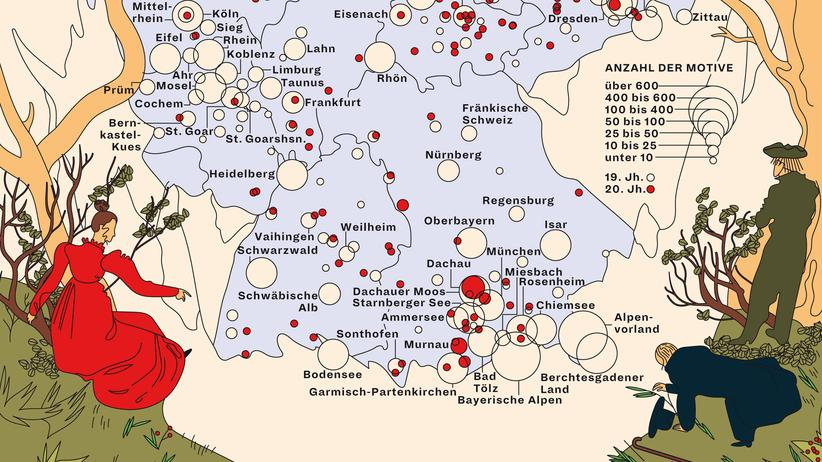Landschaftsmalerei: Deutschland ist es sich wert
