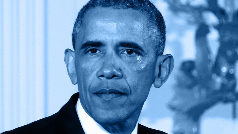 Männer! : Die Tränen des Barack Obama