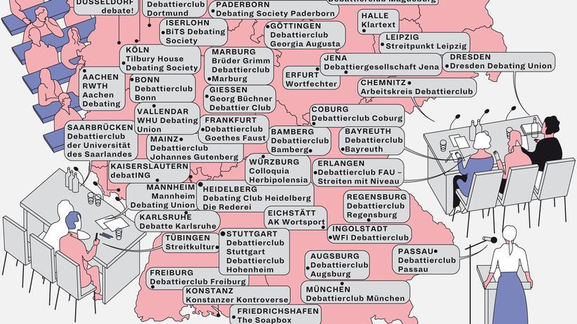 Deutschlandkarte: Die Ressentiments wegdiskutieren