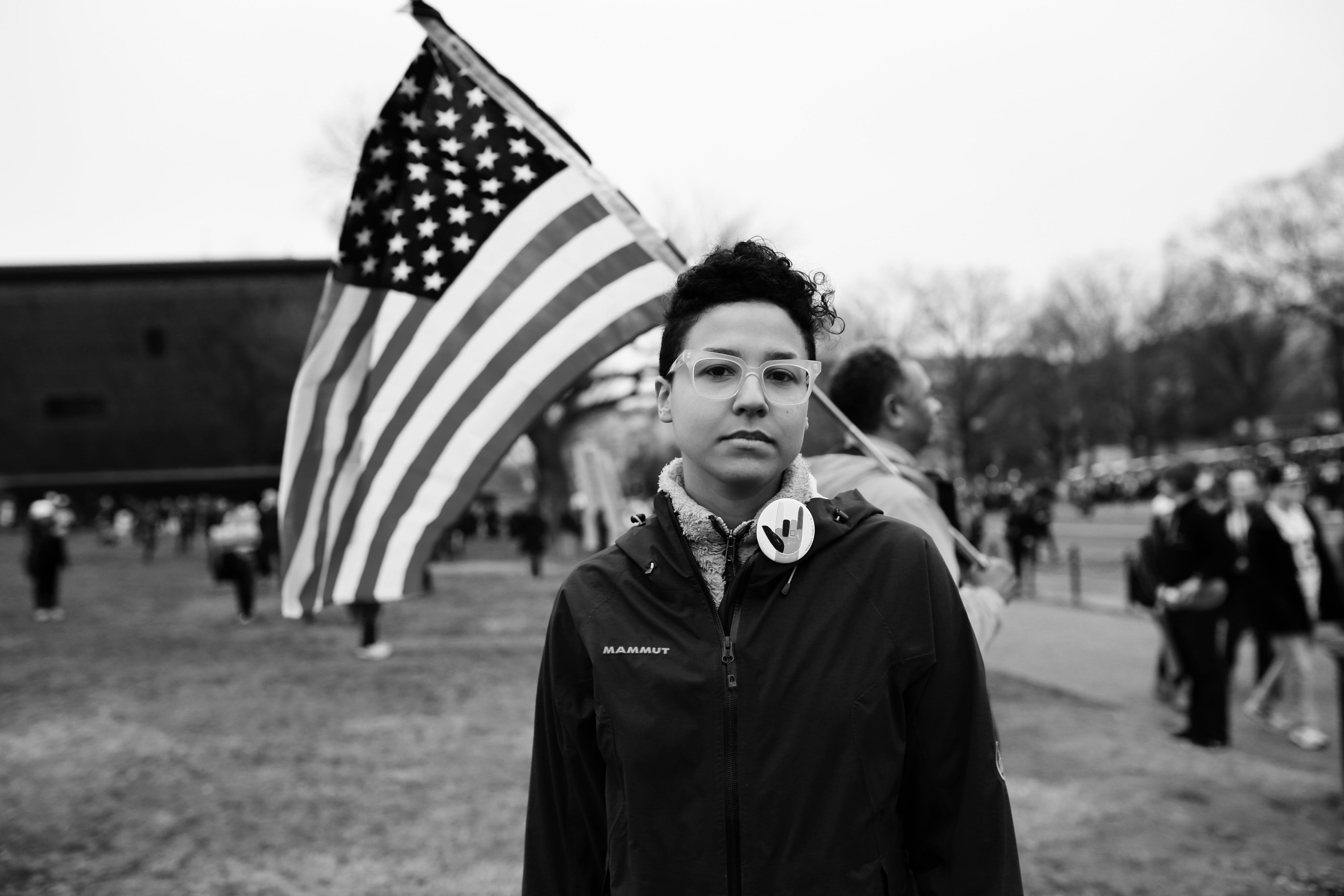 Womens March on Washington: Jeannett Rodriguez-Pineda