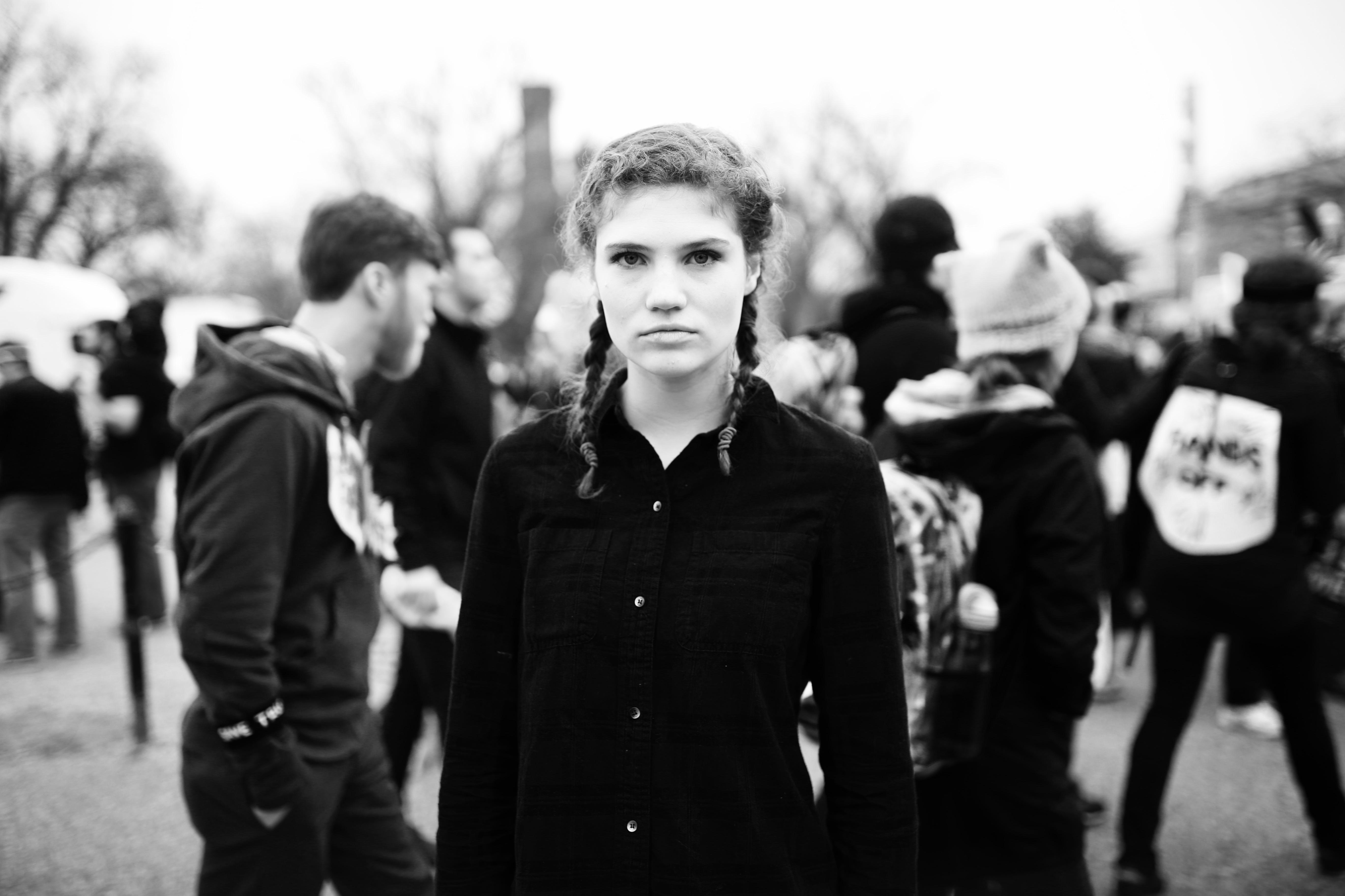 Womens March on Washington: Mae Hunt