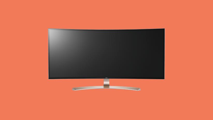Monitor: Vom Bildschirm umwickelt