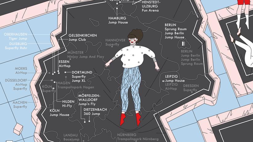 Deutschlandkarte: Das große Rudelhüpfen