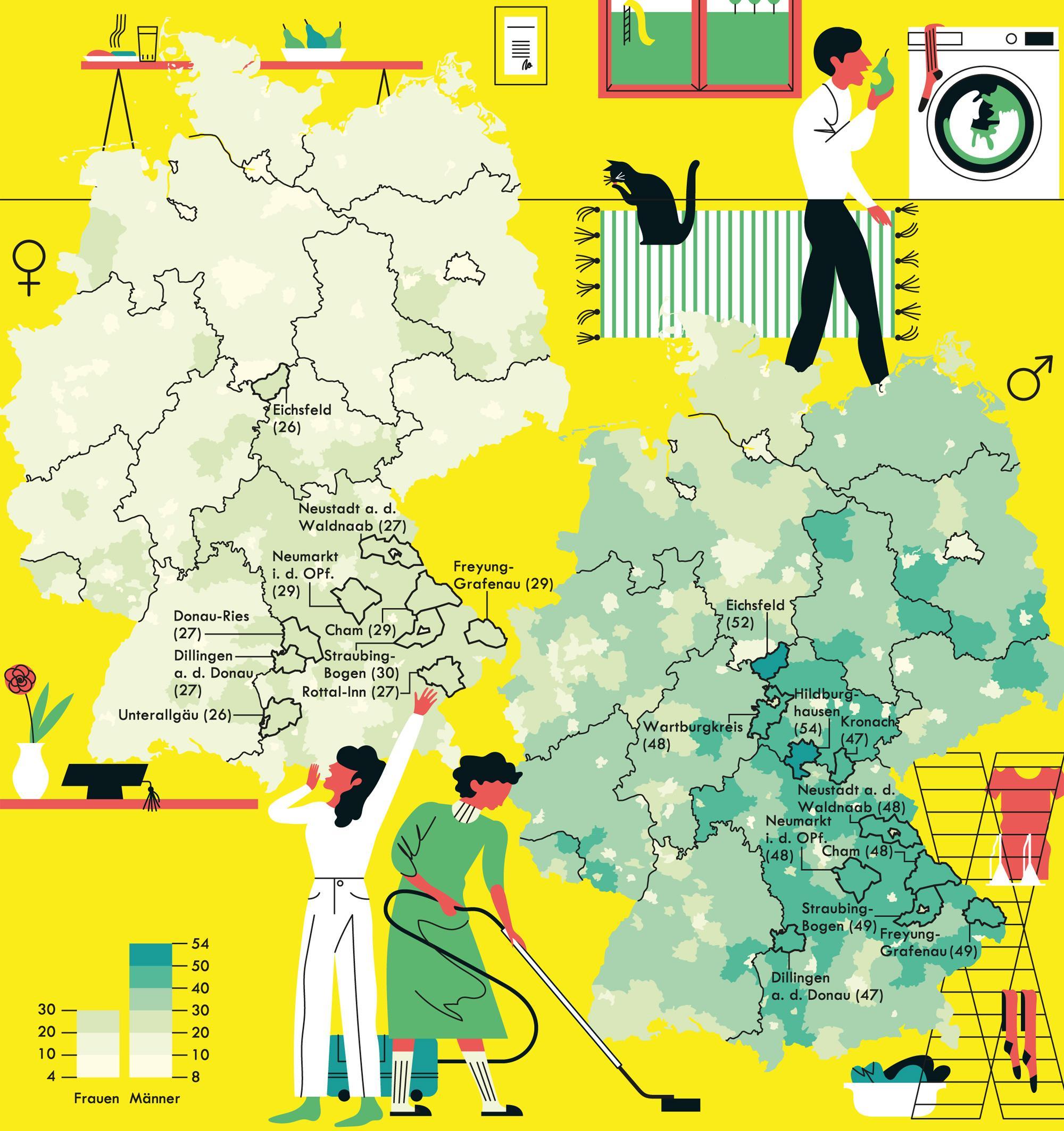 Deutschlandkarte: Hotel Mama