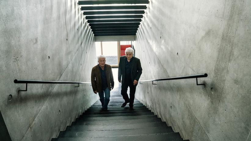 Kriminalhauptkommissare Franz Leitmayr (Udo Wachtveitl, R) und Ivo Batic (Miroslav Nemec)